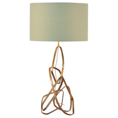 Purna Ab Contemporary and Organic Table Lamp