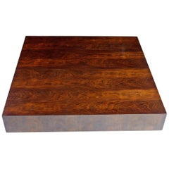 Joaquim Tenreiro Coffee Table, Plywood and Jacaranda Veneer