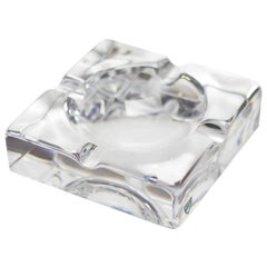 Glass Ashtray by Orrefors