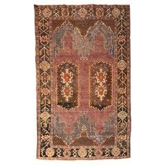 Nice Antique Turkish Konya Rug