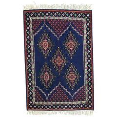 Large Vintage Tunisian Rug