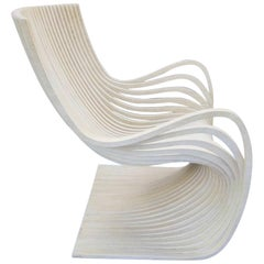 Pipo Armchair by Alejandro Estrada, in Neutral, Two Available