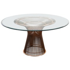 Warren Platner for Knoll Table in Rose Gold
