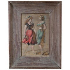 Oil on Canvas by Reginald Marsh