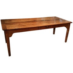 18th Century French  Cherrywood Farmhouse Table