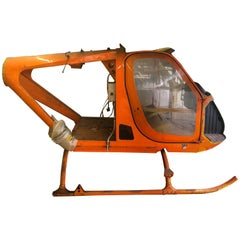 One of 20 Helicopter Airframe by Silvercraft, Italy, 1968