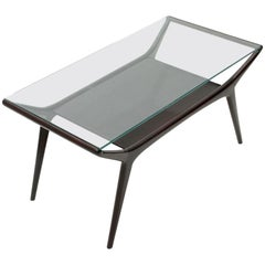 Italian Midcentury Lacquered Coffee Table, 1950s