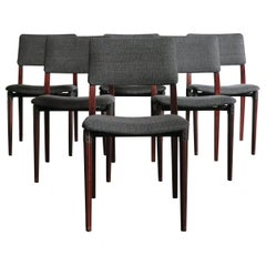 1950s Eugenio Gerli Italian Dining Chairs by Eugenio Gerli for Tecno