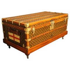 1920s Louis Vuitton Cabin Steamer Trunk