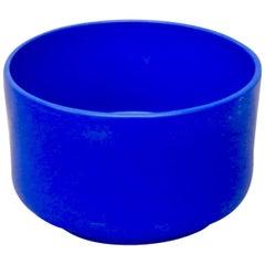 Rare Large Size Blue Glaze Gainey California Planter Pot