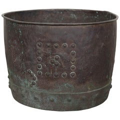 Large 19th Century English Copper Pot