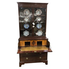 English Regency Secretary Bookcase