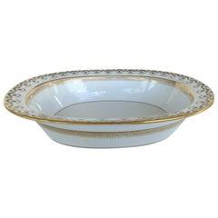 """""""Elite Works"""" Limoges France Hand Painted Porcelain Oval Serving Dish"""