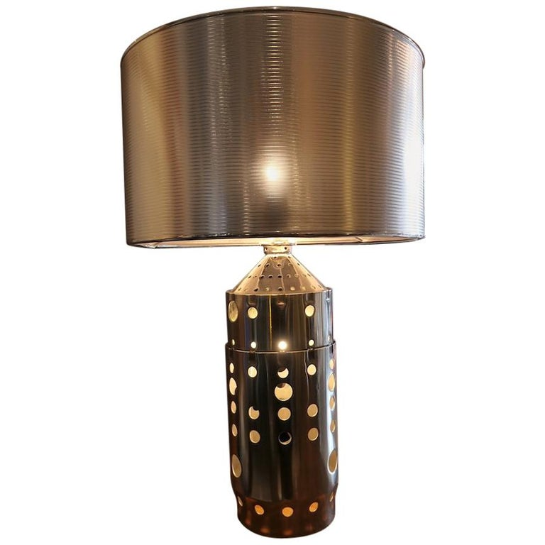 Aircraft Combustion Chamber Desk Light, Aviation Themed Decor For Sale