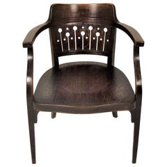 Otto Wagner Armchair by Thonet, Austria, circa 1905