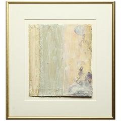Bernd Haussmann Modern Abstract Mixed-Media on Paper