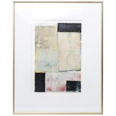 Bernd Haussmann Abstract Modern Mixed Media on Paper