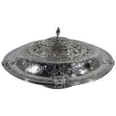 Gorham Florentine-Florenz Sterling Silver Centerpiece Flower Bowl