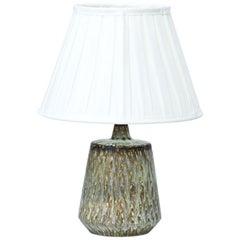 Scandinavian Modern Ceramic Table Lamp by Gunnar Nylund for Rörstrand, Sweden