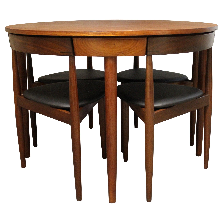 Genial Hans Olsen Teak Roundette Dining Room Set For Frem Rojle, Mid Century Modern  At 1stdibs