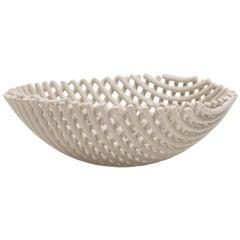 "Handmade Gres Stoneware ""Samos G"" Bowl, Enzo Mari for Danese / Driade, 1973-1997"