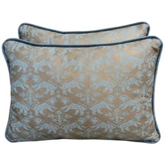 Richelieu Patterned Fortuny Pillows, Pair
