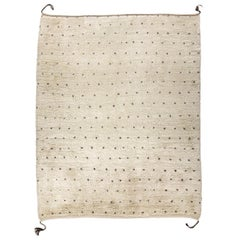 Dots, Mixed, Column, and Border Handwoven Moroccan Wool Berber Rugs