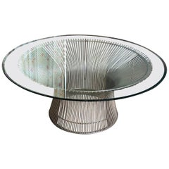Warren Platner for Knoll Coffee Table, circa 1970s