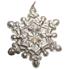 1971 Gorham Sterling Silver Christmas Ornament