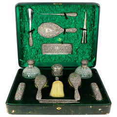 Edwardian Silver Set Made by Mappin Brothers