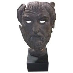 Classical Greek Sculpture of Head / Face