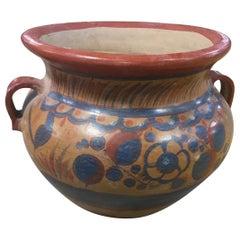 Large Mexican Vase Tonala, 1960