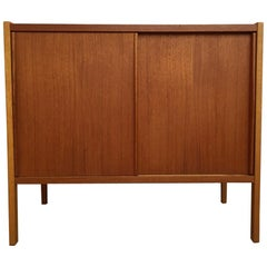 Scandinavian Modern Swedish Teak Sideboard by Bertil Fridhagen for Bodafors,1960