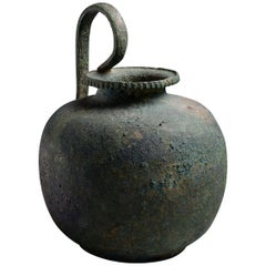 Ancient Greek Bronze Wine Vessel, 5th Century BC