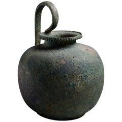 Ancient Greek Bronze Wine Vessel - 5th century BC
