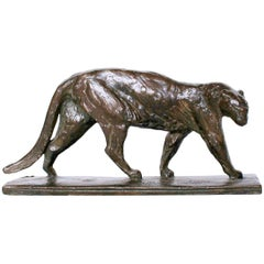 Alberic Collin Art Deco Prowling Panther