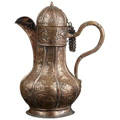 Rare 16th Century Venetian Copper Ewer
