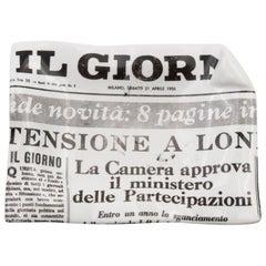 Midcentury Piero Fornasetti Giorni Vide Poches Il Giorni Empty Pocket