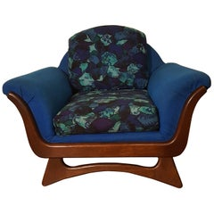Rare Adrian Pearsall Ribbon Lounge Chair