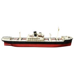 Swedish Wood Steamship Model