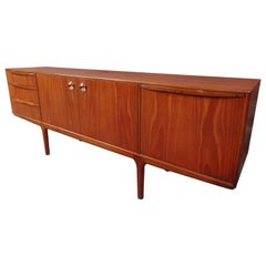 Vintage Retro Teak Sideboard Round Handles by Tom Robertson for McIntosh, 1960s