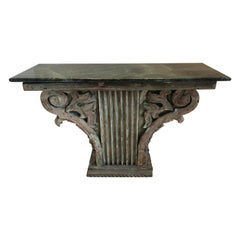 Architectural Fragment Console Table