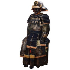 Important Japanese Samurai Armor from the Tsuchiya Clan