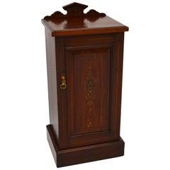 Antique Victorian Mahogany Bedside Cabinet