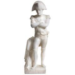 Fine Victorian Alabaster Figure of Napoleon Bonaparte