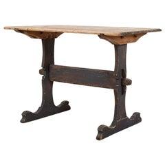 18th Century Swedish Folk Art Dining Table