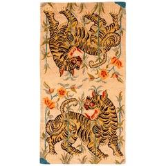 Tibetan Tiger Rug by Carini