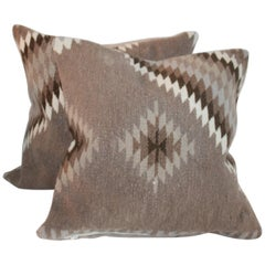 Indian Weaving Pillows, Pair