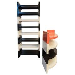 Vardani Design stacking shelf unit, Italy 1970s.