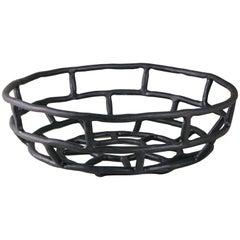 Ashlar Basket Extra Large, Large Ceramic Basket